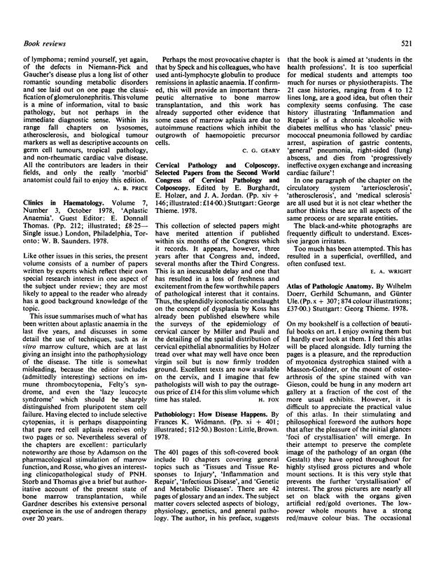 Atlas of Pathologic Anatomy | Journal of Clinical Pathology