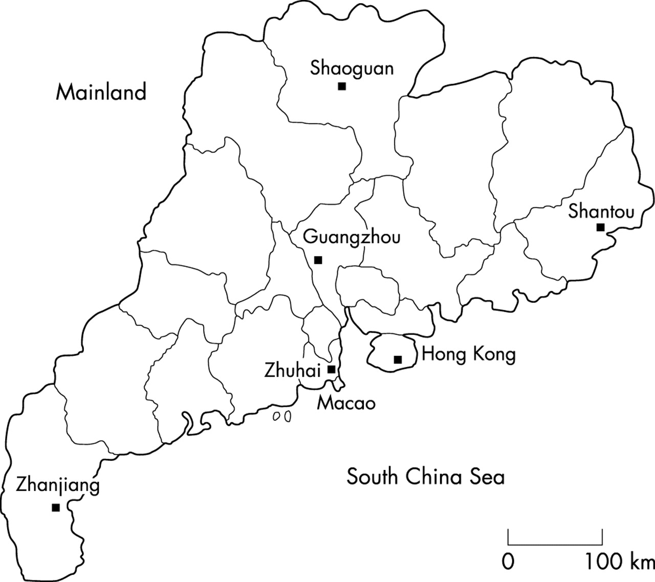 The prevalence and spectrum of α and β thalassaemia in Guangdong