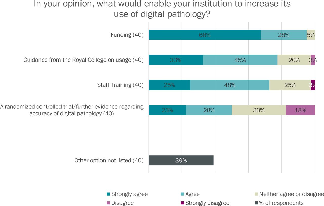 Digital pathology access and usage in the UK: results from a