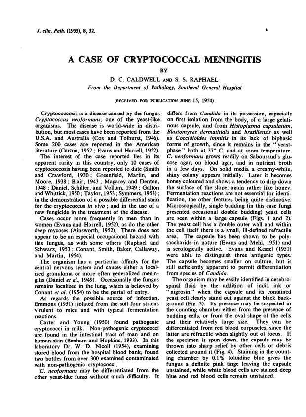 A Case of Cryptococcal Meningitis | Journal of Clinical