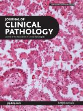 Journal of Clinical Pathology: 65 (10)