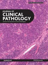 Journal of Clinical Pathology: 65 (12)