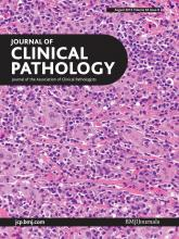 Journal of Clinical Pathology: 65 (8)