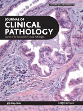 Journal of Clinical Pathology: 65 (9)