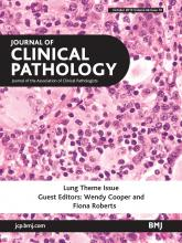 Journal of Clinical Pathology: 66 (10)