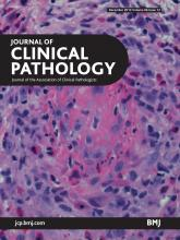 Journal of Clinical Pathology: 66 (12)