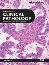 Journal of Clinical Pathology: 67 (4)