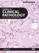 Journal of Clinical Pathology: 67 (9)