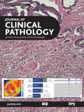Journal of Clinical Pathology: 68 (1)