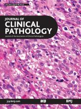 Journal of Clinical Pathology: 68 (6)