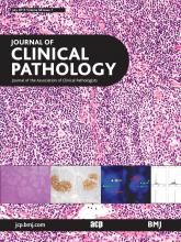 Journal of Clinical Pathology: 68 (7)