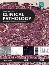 Journal of Clinical Pathology: 68 (8)