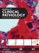 Journal of Clinical Pathology: 69 (11)