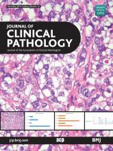 Journal of Clinical Pathology: 69 (12)
