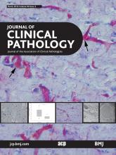 Journal of Clinical Pathology: 69 (3)