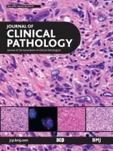 Journal of Clinical Pathology: 69 (6)