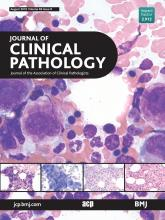 Journal of Clinical Pathology: 69 (8)