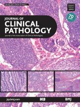 Journal of Clinical Pathology: 70 (2)