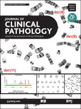 Journal of Clinical Pathology: 70 (3)