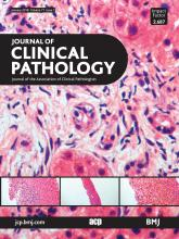 Journal of Clinical Pathology: 71 (1)