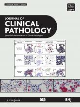 Journal of Clinical Pathology: 71 (10)