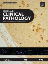 Journal of Clinical Pathology: 71 (12)