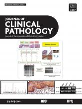 Journal of Clinical Pathology: 71 (3)
