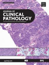 Journal of Clinical Pathology: 71 (6)