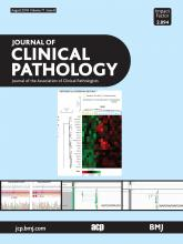 Journal of Clinical Pathology: 71 (8)