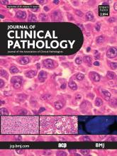 Journal of Clinical Pathology: 71 (9)