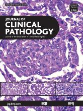 Journal of Clinical Pathology: 72 (10)