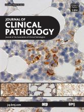Journal of Clinical Pathology: 72 (6)