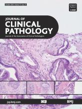 Journal of Clinical Pathology: 73 (10)
