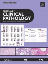 Journal of Clinical Pathology: 73 (12)
