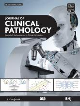 Journal of Clinical Pathology: 74 (7)